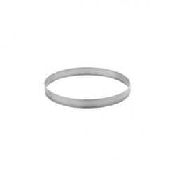 Fascia cerchio inox microforato Ø Cm. 7x2 H. - Pavoni
