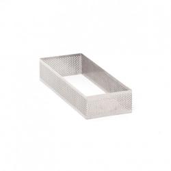 Fascia rettangolare microforata Cm. 7x19x3,5 H. - Pavoni