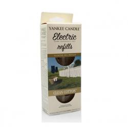 Ricarica per profumatore elettrico, Clean Cotton - Yankee Candle